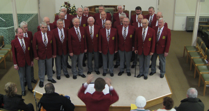 the oxford welsh male voice choir at the new road baptist church oxford